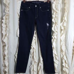 NWT American Eagle Skinny Stretch dark wash jeans